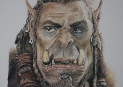 Durotan from the Warcraft Movie