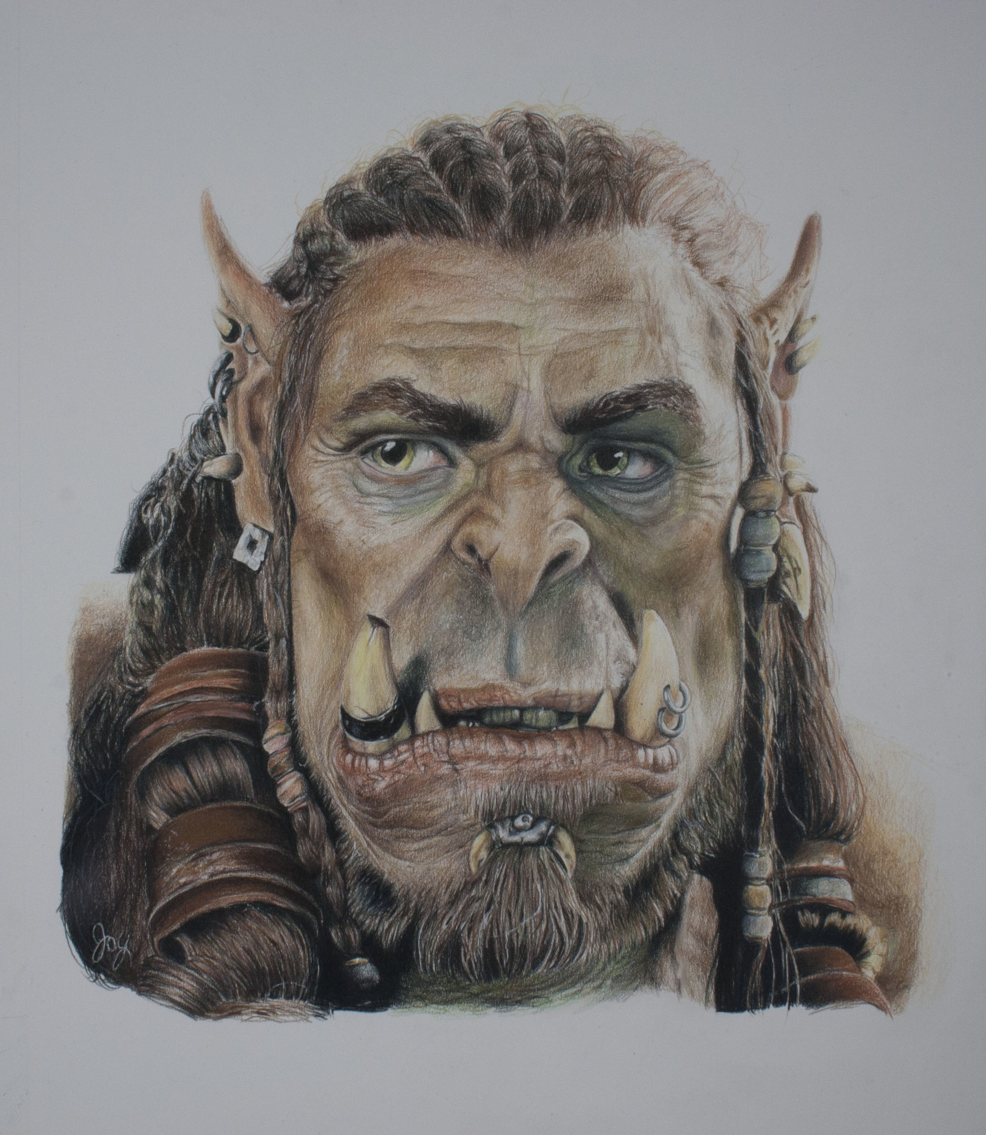 Durotan from the Warcraft Movie